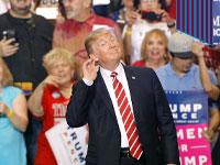 טראמפ בעצרת בחירות באריזונה / צילום: Gettyimages/Anadolu Agency