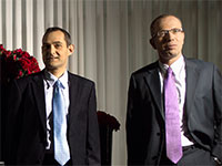 רוני בירם וגיל דויטש  / צילום: רמי זרנגר