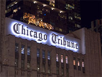 "מערכת העיתון ""chicago tribune"" / צילום: shutterstock, שאטרסטוק"