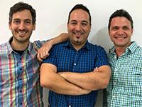 מייסדי Founders dror-gabby-ronny: דרור גבי רוני  / צילום: Loom