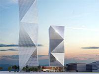 המגדל המתוכנן בקריית עתידים / צילום: משה צור אדריכלים