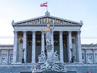 בנין הפרלמנט האוסטרי בוינה / צילום: shutterstock, שאטרסטוק