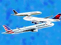 """מטוסי אמריקן איירליינס, יונייטד ודלתא / צילומים: יח""""צ, עיבוד תמונה: טלי בוגדנובסקי"""