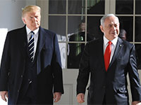 "בנימין נתניהו ודונלד טראמפ / צילום: קובי גדעון, לע""מ"