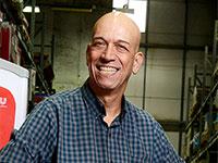 דני רוז'נסקי, מנהל הפיתוח של גלידות שטראוס / צילום: איל יצהר, גלובס