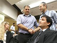"""אמיר נחום, מנכ""""ל אורתם סהר, בבית המשפט / צילום: אמיר מאירי"""