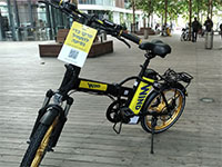 """הפיילוט של ווינד - אופניים חשמליים להשכרה לטווח קצר / צילום: יח""""צ"""