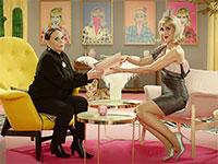 """שני כהן והשחקנית גילה אלמגור מככבות בפרסומת של תשעה מיליון / צילום: יח""""צ"""