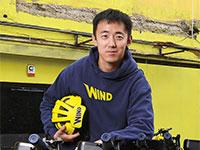"""אריק וונג, מייסד–שותף ומנכ""""ל חברת הקורקינטים השיתופיים Wind  / צילום: איל יצהר, גלובס"""