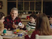 """רשף לוי בפרסומת לקוטג' תנובה / צילום: יח""""צ"""