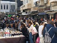 בחירות 2020, תל אביב. אנשים ממלאים את הרחובות ביום החופש של הבחירות / צילום: שירי דובר, גלובס