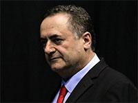 שר החוץ ישראל כץ במטה הליכוד, אמש / צילום: שלומי יוסף, גלובס