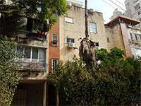 """הבניין ברחוב בראשית 2 ברמה""""ש. חיזוק מבנים לא מכשיר עבריינות  / צילום: איל יצהר, גלובס"""