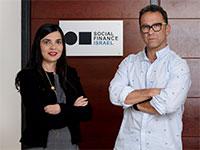 """ירון נוידרפר, מנכ""""ל SFI ואירה פרידמן, סמנכ""""לית SFI / צילום: איל יצהר, גלובס"""