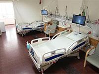 """מחלקה ייעודית לחולי קורונה בבי""""ח השרון / צילום: רמי זרנגר"""