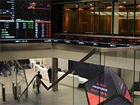 מדדים אדומים בבורסת לונדון / צילום: Nick Zonna, רויטרס