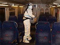 חיטוי רכבת ישראל, היום / צילום: שני מוזס, גלובס