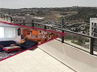 """רחוב קדיש לוז, שכונת רמת שרת בירושלים, בניין הכוכב / צילום: יח""""צ"""