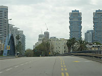 רחובות תל אביב ריקים בצל הקורונה / צילום: איל יצהר, גלובס