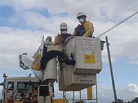 עובדי חברת החשמל ממשיכים לבצע עבודות חיוניות בצל הקורונה / צילום: חברת החשמל ויוסי וייס