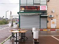 חנויות סגורות במתחם ירקונים / צילום: כדיה לוי, גלובס
