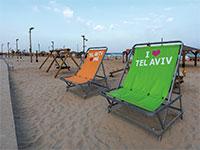 חוף הים של  תל אביב ריק / צילום: shutterstock, שאטרסטוק