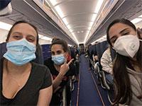 """בטיסה מסלובקיה של ישראייר / צילום: יח""""צ"""