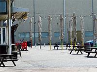 עסקים סגורים בצל ההנחיות החדשות של משרד הבריאות, תל אביב. / צילום: איל יצהר, גלובס