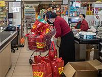 קניות בסופרמרקט בימי קורונה / צילום: כדיה לוי, גלובס
