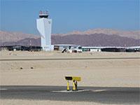 מסלול המראה ריק בשדה תעופה רמון / צילום: סיון פרג'