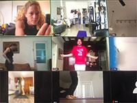 """ממשיכים בעסקים דרך אפליקציית הוידאו """"זום"""" / צילום: תמונה פרטית"""