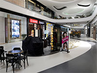 החנויות בקניון TLV סגורות בצל נגיף הקורונה / צילום: איל יצהר, גלובס