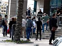 לשכת התעסוקה בתל אביב בחודש שעבר / צילום: רובי קסטרו - וואלה חדשות