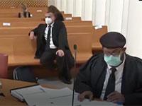 מתוך הדיון שהועבר בשידור חי מבית המשפט העליון בצל הקורונה / צילום: ynet