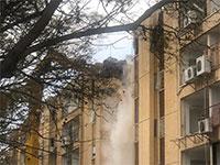 הריסת הבניינים בפרויקט ברחוב רקנאטי, לפני כשנה / צילום: מיכל ארבל