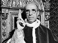 """האפיפיור פיוס ה-12. """"ידע יותר"""" על פשעי הנאצים ממה שהיה ידוע / צילום: Associated Press"""
