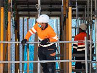 אתר בנייה בספרד. אסטרטגיה להטמעה / צילום: shutterstock, שאטרסטוק