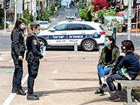 פקחים פועלים ברחבי הארץ תחת משטר הקורונה תוך כדי תשאול ותחקור אזרחים / צילום: כדיה לוי, גלובס
