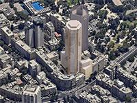 מגדל פזגז / הדמיה: פיי-קוב-פריד אדריכלים