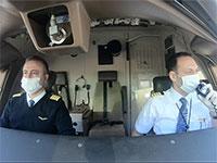 """עדי פז טייסי טורקיש איירליינס / צילום: יח""""צ"""