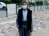 אזרחי כורדיסטן נשמעים להוראות וחובשים מסכות, ברחבי העיר אירביל  / צילום: אייל רייניך
