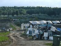 גבעות טנטור, השטח המיועד לבנייה / צילום: איל יצהר, גלובס
