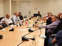 """פגישת יו""""ר ההסתדרות עם נציגי המלונאים / צילום: דוברות ההסתדרות"""