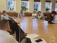 """הפגישה בין השרים לגורמים המקצועיים בנושא אל על / צילום: דוברות משרד האוצר, יח""""צ"""