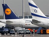 מטוס של אל על ומטוס של לופטנזה / צילום: Matthias Schrader , Associated Press