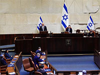 בני גנץ נואם בהשבעת הכנסת ה-35 / צילום: עדינה ולמן, דוברות הכנסת