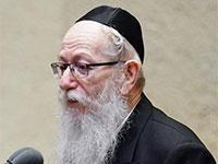 יעקב ליצמן נואם בהשבעת הכנסת ה-35 / צילום: עדינה ולמן, דוברות הכנסת