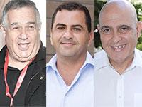 דוד פתאל, רני צים, דודי עזרא / צילום: אלון רון, רפי דלויה, דוברות הכנסת