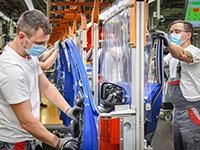 """מפעל של אאודי בגרמניה שחזר לפעילות. חוזרים לשגרה / צילום: יח""""צ"""