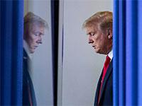 הנשיא דונלד טראמפ בבית הלבן / צילום: Alex Brandon, Associated Press